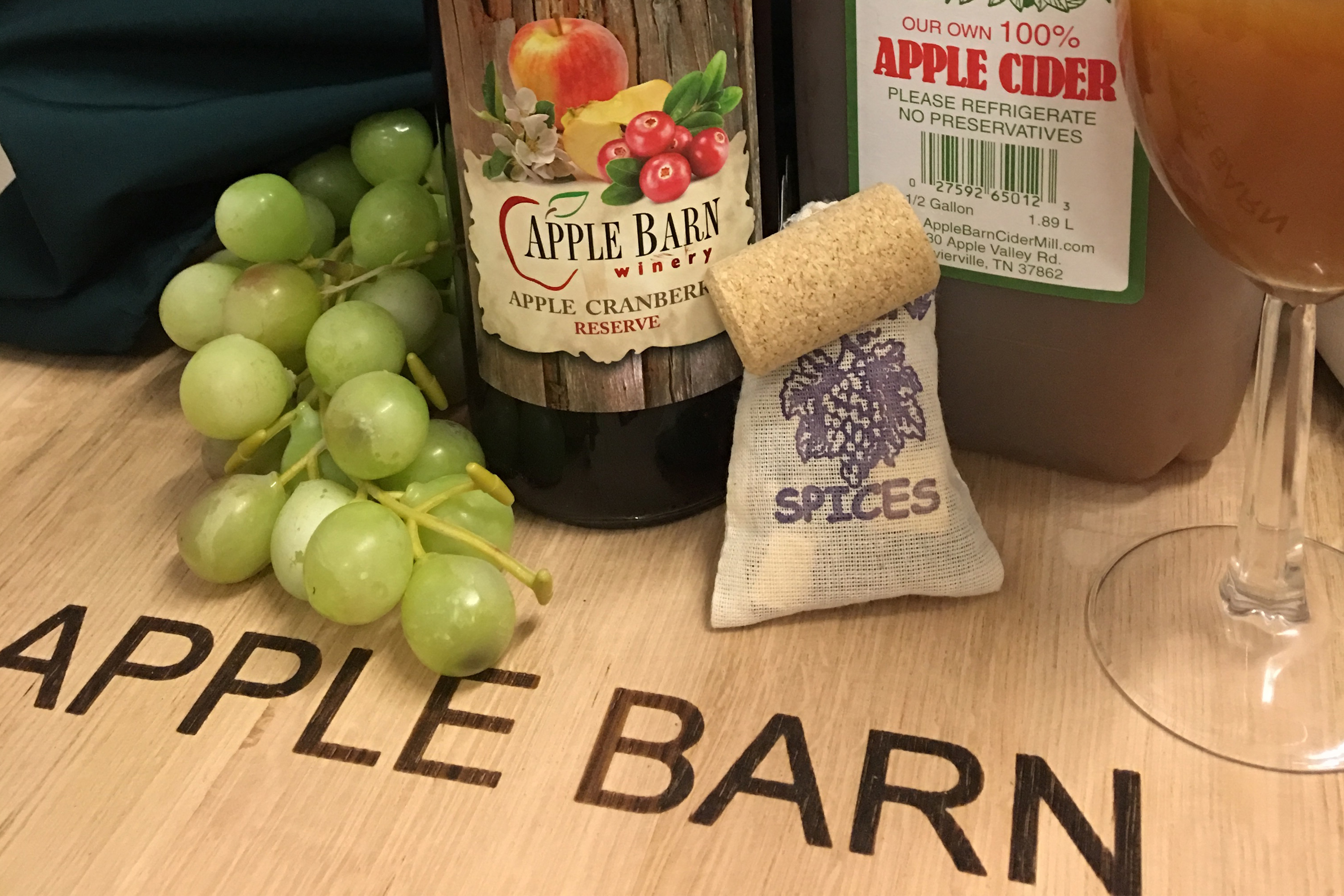 Apple Barn Winery's Hot Spiced Cider
