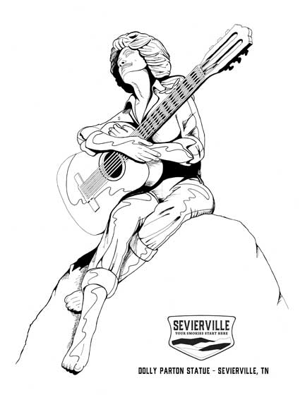 Sevierville Coloring Pages