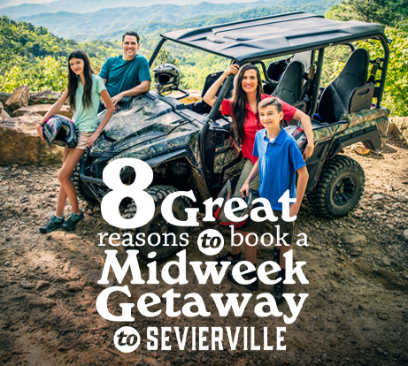 Midweek Getaway to Sevierville Icon